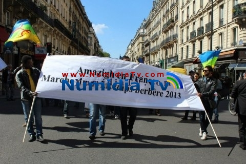 Célébration du Printemps Berbere 2013 à Paris