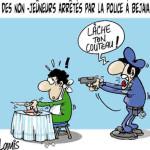 """La police traque les """" non jeûneurs """" à Aokas"""