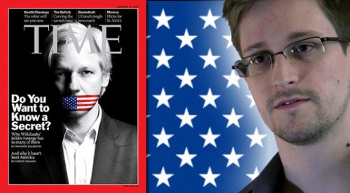 Pétition internationale pour l'attribution du prix Nobel de la paix 2014 à Julian Assange et Edward Snowden